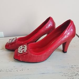 🌟Vintage🌟Red Beautiful Shoes